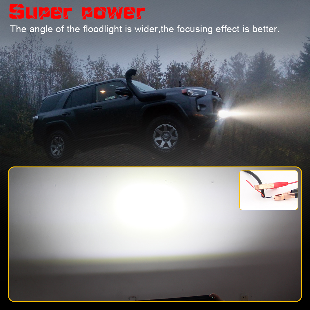 Image 3 - CO LIGHT 10D 10 20 30 inch 52W 104W 156W LED Work Light Bar Combo 4x4 Offroad LED Light Bar for Tractor Boat 4WD 4x4 Trucks ATV-in Light Bar/Work Light from Automobiles & Motorcycles