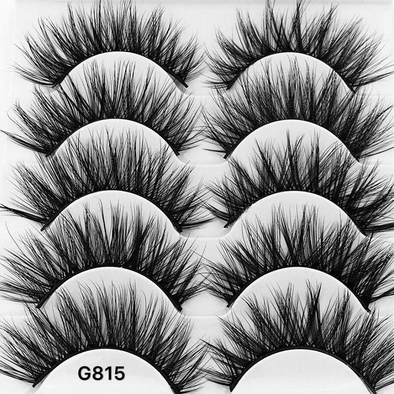 Longos e Grossos Falsificados Eye Lashes Handmade 3d