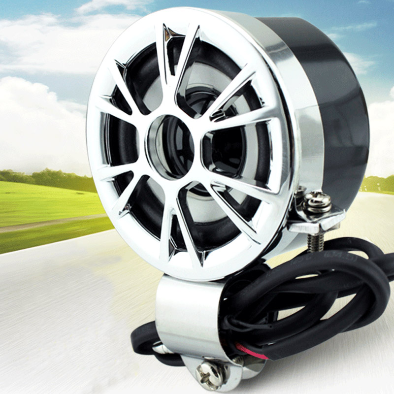 "2pcs Motorcycle Handlebar <font><b>Mount</b></font> Round Speaker Universal For 7/8\"" Handlebar Honda Bike Radio Stereo Amplifier Speaker Waterproof"