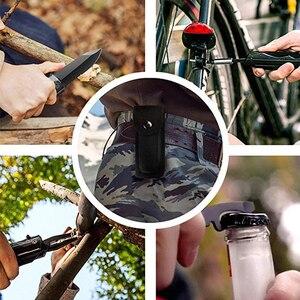 Image 5 - QUK كماشة متعددة المهام للطي جيب EDC التخييم في الهواء الطلق بقاء الصيد طقم مفك براغي بت سكين فتاحة الزجاجات أدوات يدوية