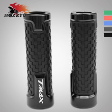 Motorcycle handlebar grips CNC Handle Handlebar hand bar grip For YAMAHA TMAX T-MAX 530 500 TMAX530 SX DX 2014 2015 2016-2018