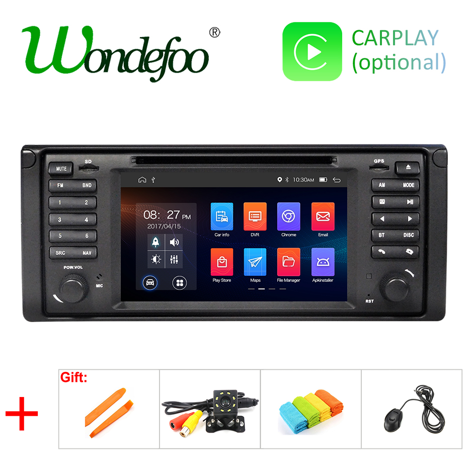 IPS DSP Android 9 0 4G 64G Car GPS For BMW E53 E39 X5 DVD PLAYER