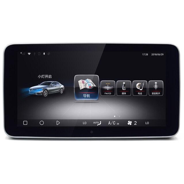 9.3 Android 3G RAM dokunmatik ekran multimedya oyuncu ekranı navigasyon gps Mercedes Benz A/B/C/ E sınıfı 2008 2015 NTG4.0/4.5