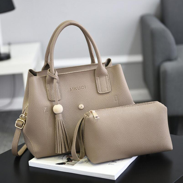 New Designer brand Leather women bag sweet fashion handbag female sweet Embossing ladies leather Shoulder bag