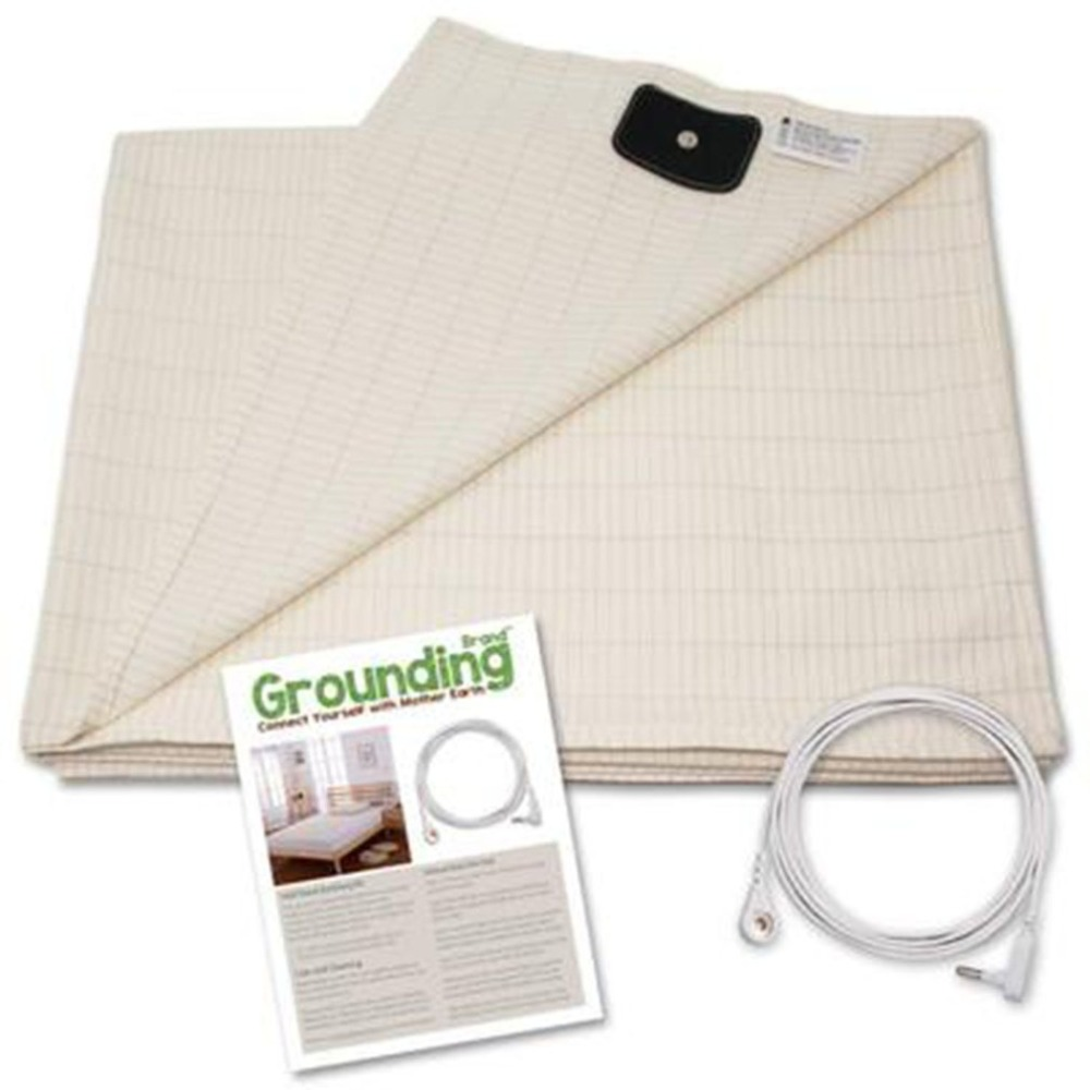 лучшая цена Conductive Earth/Ground Protection Flat Sheet Health Care Function Sheet 230*90cm Dropshipping