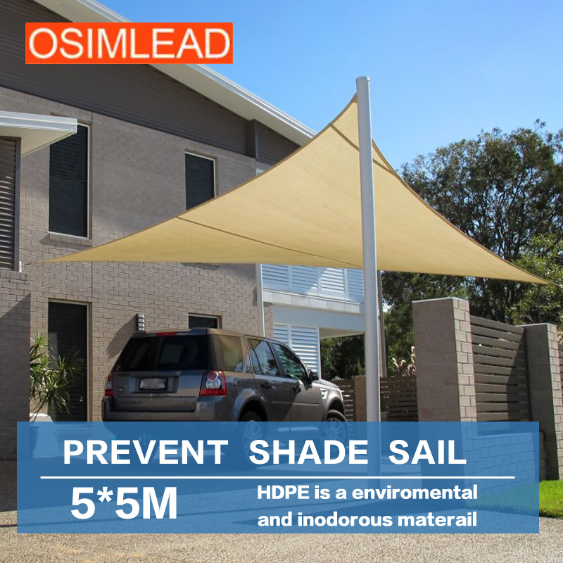 все цены на sun shade sail shade net uv protection  ,Prevent bask in tents ,Keep out ultraviolet (uv) 95%,5 *5 m