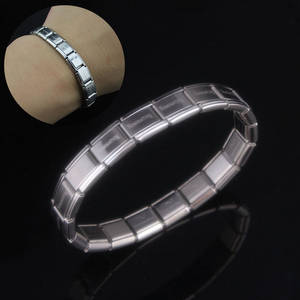 LNRRABC 1PC Stainless Steel Women Men Bracelet Bangle