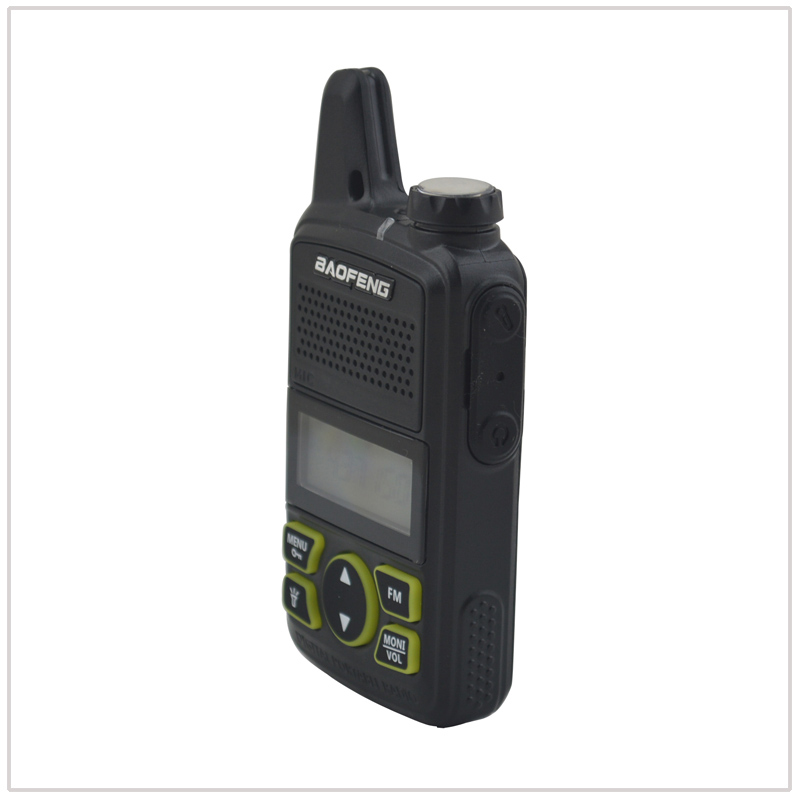 Image 2 - 1pcs x baofeng Mini Walkie Talkie BF T1 UHF 400 470MHz 1W 20CH Small Mini Portable Ham FM Two way Radio With Earpiece-in Walkie Talkie from Cellphones & Telecommunications