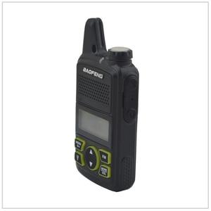 Image 2 - 1pcs x baofeng Mini Walkie Talkie BF T1 UHF 400 470MHz 1W 20CH Small Mini Portable Ham FM Two way Radio With Earpiece