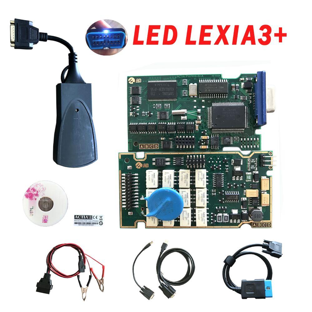 Lexia3 mit Firmware 921815C Goldene PCB Lexia 3 PP2000 V48/V25 Für auto mit mehr fuction beste qualität volle chip