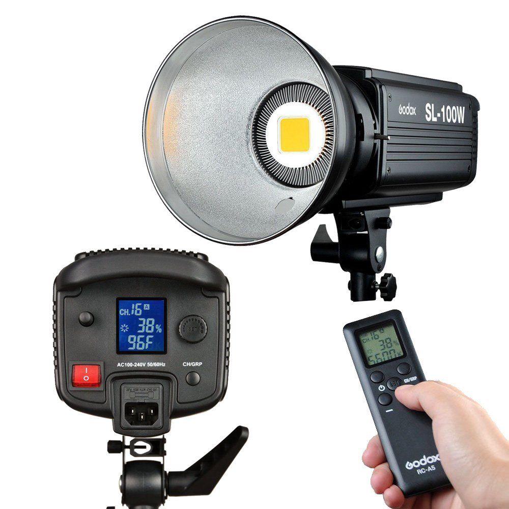 Godox SL-100W LED видео светлина 100W LED крушки - Камера и снимка - Снимка 5