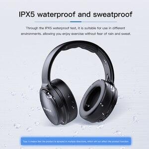 Image 5 - AWEI A780BL kablosuz kulaklık Bluetooth 5.0 kulaklık mikrofon ile derin bas oyun kulaklık desteği TF kart iPhone Xiaomi için