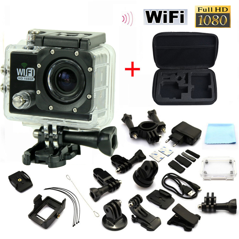 ФОТО hot Sport Style Action WiFi Camera1080P Full HD 2.0