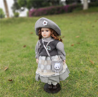 Valentine's Beautiful Princess Character overs Russian character girl frozen queen porcelain doll wedding decoration