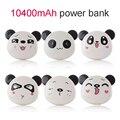 Портативный Банк силы 5200 мАч Универсальный Cute Panda Powerbank powerbank 18650 Зарядное Устройство Dual USB Порт для xiaomi для iphone 6