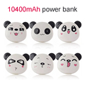 Banco do poder 5200 mah portátil universal panda bonito powerbank powerbank carregador de bateria 18650 dual usb porta para xiaomi para iphone 6