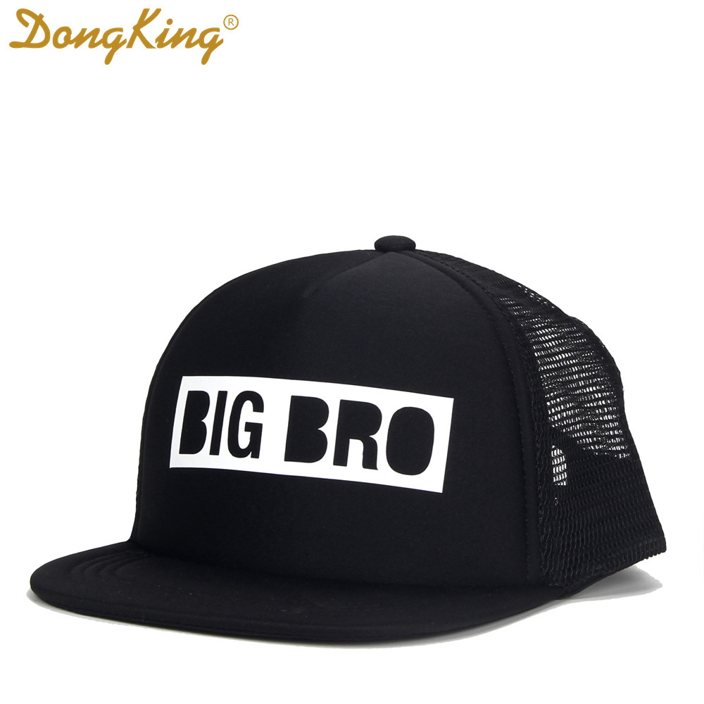 df32bd84 DongKing Kids Trucker Hat BIG BRO Cap BIG SIS Hats LIL BRO LIL SIS Snapback  Hat Big Brother Big Sister Baby Boy Girl Party Gift -in Baseball Caps from  ...