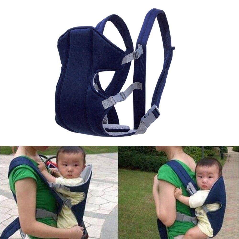 Multifonctionnel face avant porte-bébé fronde maille sac à dos poche kangourou Wrap portant pour bébé enfants enfant en bas âge élingues