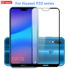 9H Full Cover for huawei P20 P 20 lite Pro Plus nova 3e p20lite Tempered Glass Full Screen Protective Flim Protector Case capa(China)
