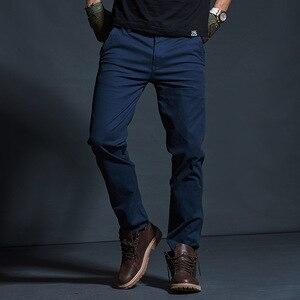 Image 2 - Vomint Mens warm Velvet pants for Fashion Zipper Thick Cargo Pants Slim Regualr Straight  Fit Cotton Multi Color Camouflage blue