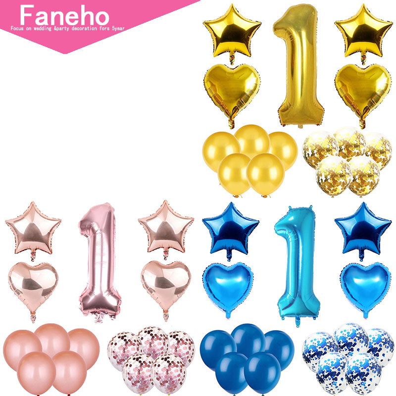 25 30 Go To Www Bing Com: Birthday Party Decoration Combination Aluminum Film