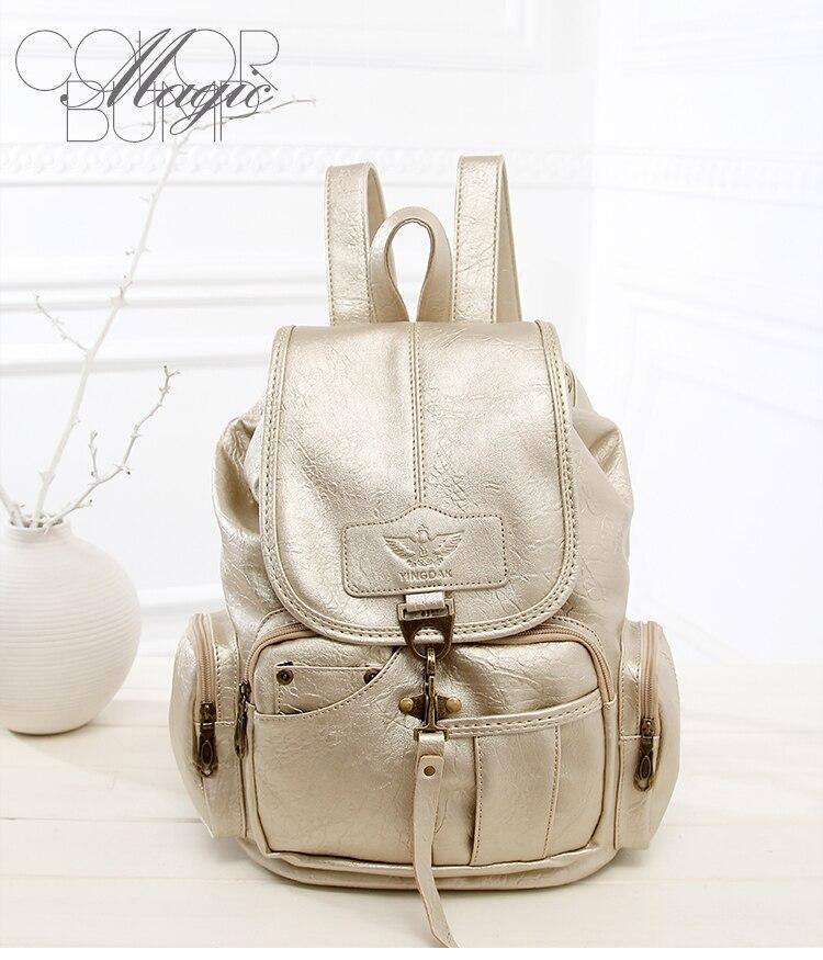 HTB1.Y3ryAyWBuNjy0Fpq6yssXXaM High Quality Women Backpack Vintage Backpacks For Teenage Girls Fashion Large School Bags PU Leather Black Mochila Feminina