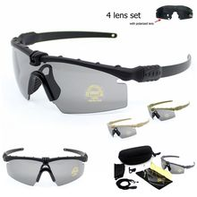Army Protection Military Glasses Paintball Shooting Goggles Tactical Polarized