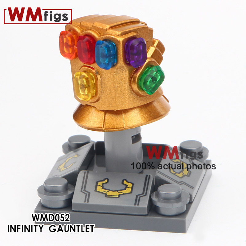 50pcs lot Super Infinity Gauntlet Heroes Avengers Chrome With 6pcs Power Stones Thanos iron man guantelete