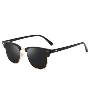 Classic Polarized Sunglasses Men Women Retro Brand Designer High Quality Vintage Sun Glasses Female Male Fashion Mirror Sunglass