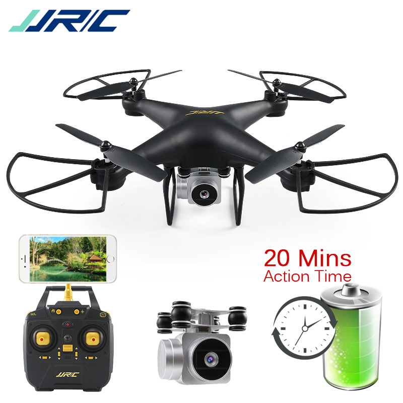 JJRC H68 Bellwether RC Drone Quadcopter Drones with Camera HD WiFi FPV Altitude Hold Headless Mode Dron 20 Minutes Playing Time