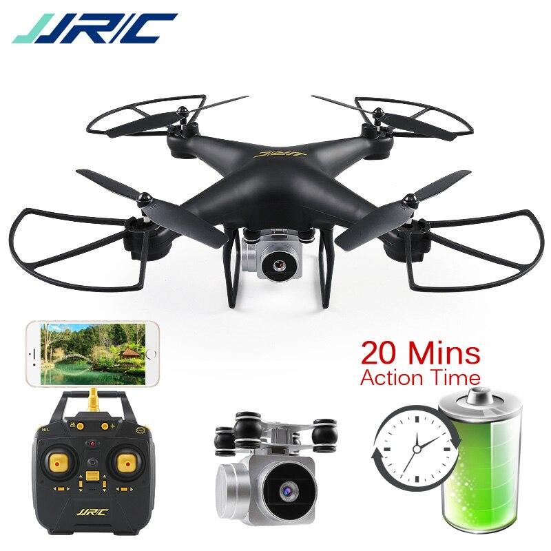 JJRC H68 Bellwether RC Drone Quadcopter Drones avec Caméra HD WiFi FPV Maintien D'altitude Sans Tête Mode Dron 20 Minutes À Jouer temps