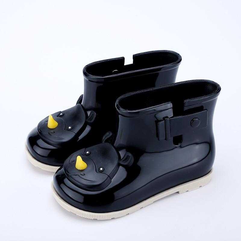 Kids Girls Unicon Rain Shoes Waterproof Jelly Boots Toddlers Non-Slip Wellington
