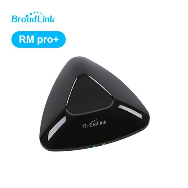 Новый Broadlink RM PRO Wi-Fi универсальный пульт дистанционного управления Умный дом автоматизации WI-FI + IR + РФ переключатель дистанционного IOS android