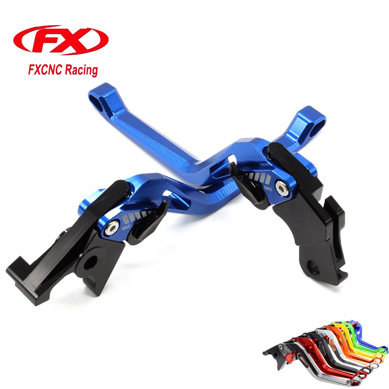 FXCNC 3D New Rhombus Adjustable Motorcycle Brake Clutch Lever For Yamaha YZF R125 YZF 125 R WR125X WR125R WR 125 Motorbike Brake fxcnc universal stunt clutch easy pull cable system motorcycles motocross for yamaha yz250 125 yz80 yz450fx wr250f wr426f wr450