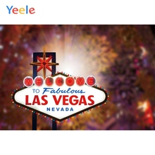 Yeele Las Vegas Nevada Personalized City Poster Photocall Photography Photographic Backgrounds Party Backdrops For Photo Studio