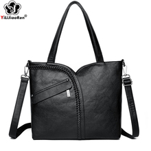 Fashion Ladies Hand Bags 2019 Large Capacity Women Handbags Designer Luxury Brand Shoulder Bag Leather Crossbody Bags for Women la maxza gifts for valentine s day leather fashion women handbags split leather shoulder bag large designer ladies shoulder bags