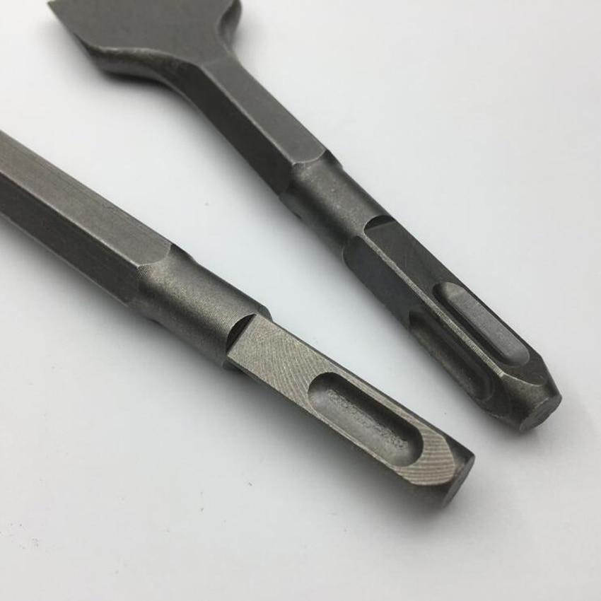 Mini trapano elettrico a scalpello a martello quadrato 150MM / 250MM - Punta da trapano - Fotografia 4
