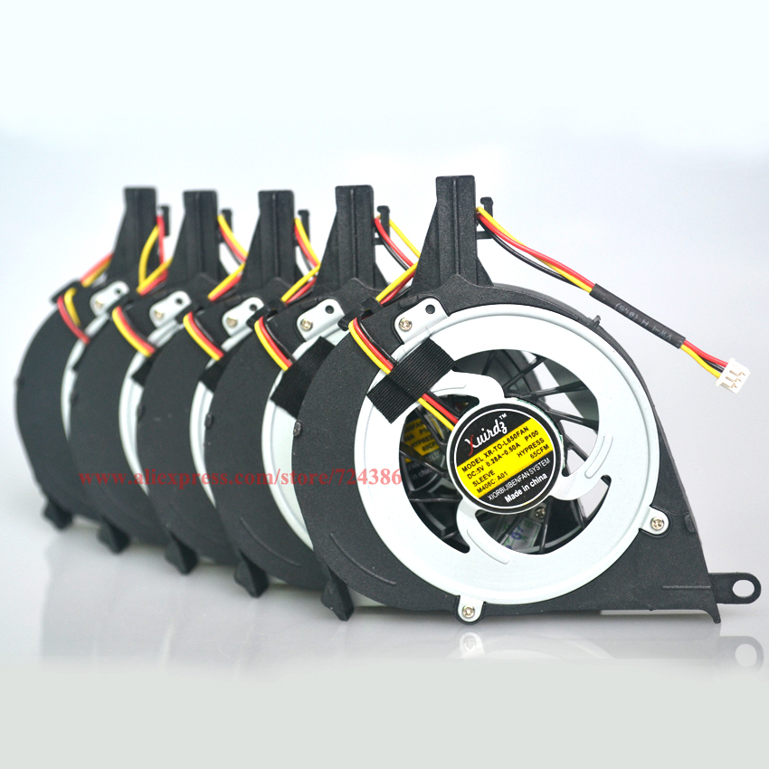 (5pcs/lot) Cooling fan for TOSHIBA Satellite L650 L650D L655 L655D cpu fan Brand new L650 L650D laptop cpu cooling fan cooler