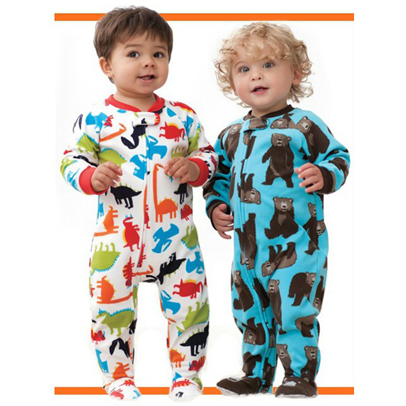 Straniero di marca e ragazzi di alta qualità in pile con calzamaglia - Abbigliamento per neonato