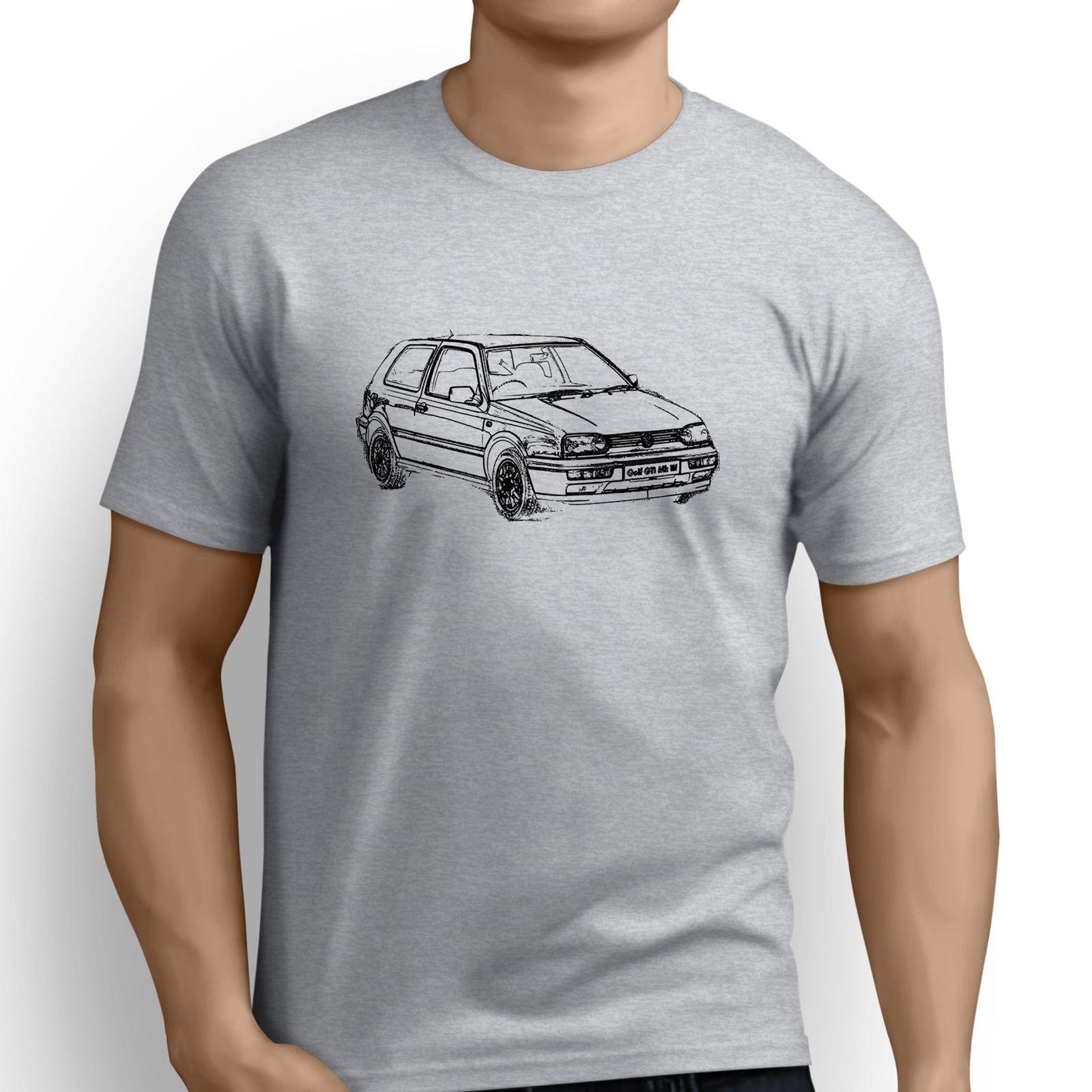 2018 Hot Sale Fashion Summer Casual Man T Shirt Good Quality  German Classic Car Fans Golfer Gti Mk3 Inspired Car custom Tee