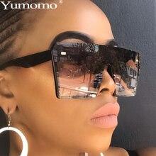 2019 Oversized Square Sunglasses Men Women Flat Top Fashion