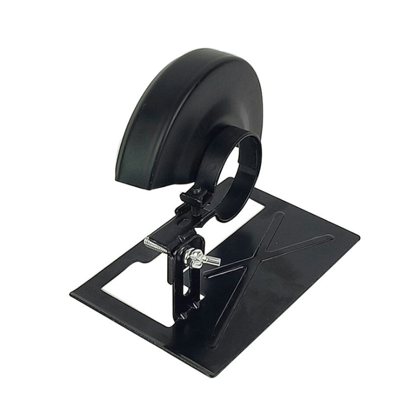 Thickened Steel Angle Grinder Bracket Holder Cutting Machine Base 2-3cm Adjustable For Woodworking Or Other Insustry