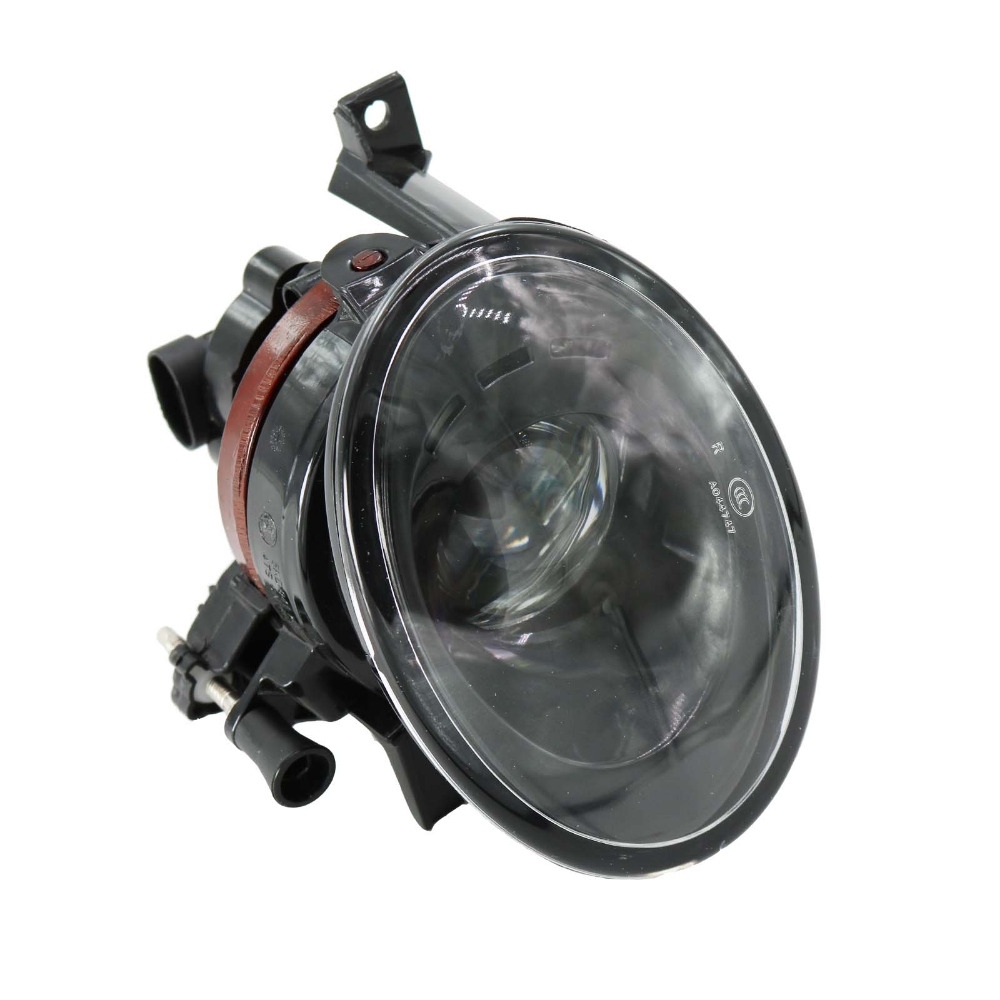 For VW Tiguan 2012 2013 2014 2015 2016 Car-Styling Right Side Front Fog Light Fog Lamp With Convex Lens for vw 2010 2011 2012 tiguan clear lens bumper fog driving light fog lamp right side 5nd 941 700