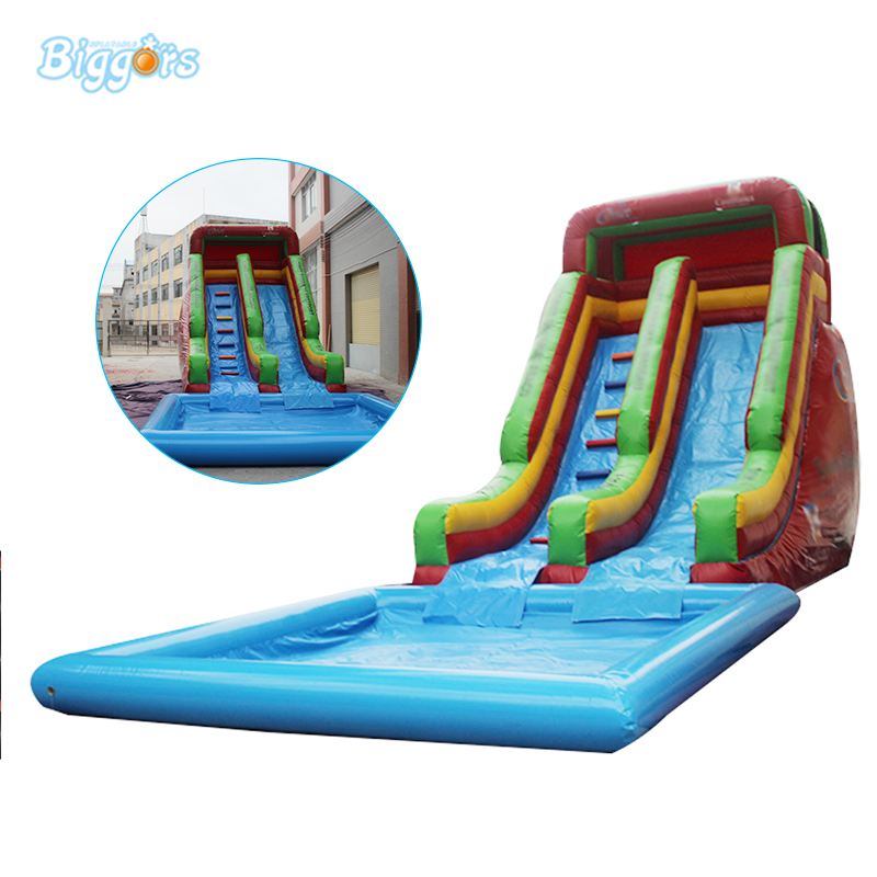 Inflatable Biggors Cheap Pool Giant Inflatable Water Slide From China inflatable slide with pool cheap inflatable water slides