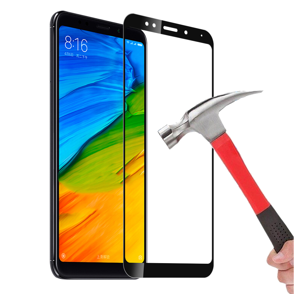 3D Global Glass For Xiaomi Redmi Note 5 8 6 Pro Tempered Glass on For Xiomi Xaomi Xiami Red mi 5 Plus 5.99 4X S2 Safety Pelicula(China)