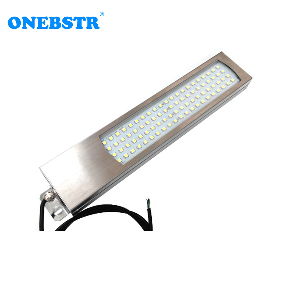Hntd 40w Td46 24v/220v Led Metal Panel Light Cnc Machine Tool Waterproof Explosion-proof Led Astigmatism Led Work Lamp Hot Sale Pure Whiteness Computer & Office Office Electronics