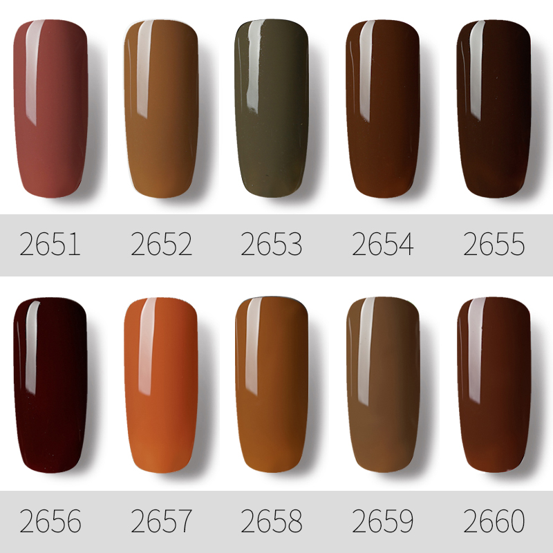 ROSALIND-Gel-1S-Coffee-Colors-7ml-Nail-Gel-Polish-UV-LED-Lamp-Manicure-Nail-Art-Almost