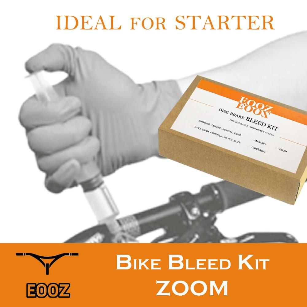 EOOZ Bicycle Hydraulic Disc Brake Bleed Kit tool for MTB Bike ZOOM HB100 <font><b>HB875</b></font> image