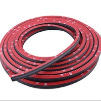 Large D Car Seal Car Doors And Windows Modified Rubber Bumper Anti Collision Sound Bar