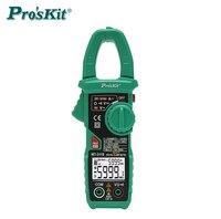 Pro'skit MT 3110 intelligent clamp meter dual screen digital display multimeter ammeter automatic range backlight